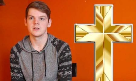 This is a screenshot from a video on an antigay church's letter.