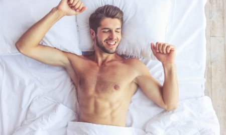 Guy Sleeping Naked