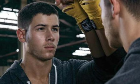 This is a photo of Nick Jonas in 'Kingdom'.