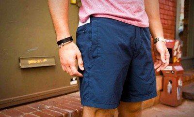 Gym shorts for guys who go commando.