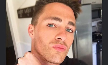 This is a photo of openly gay actor Colton Haynes.
