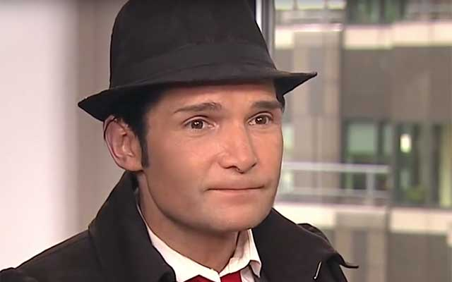 This is a photo of Corey Feldman.