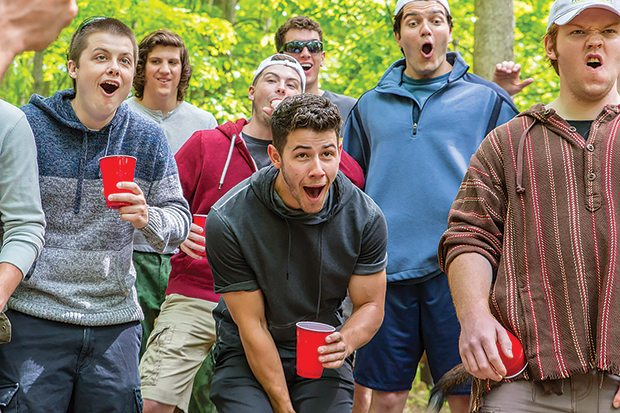 Nick Jonas and James Franco starred in a film about hazing is fraternities.
