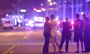 A photo from the Pulse Nightclub shooting.