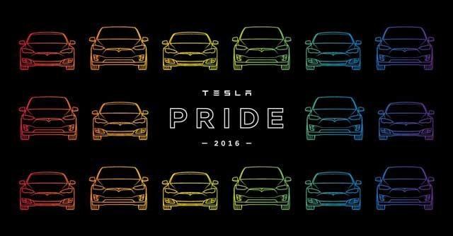 Tesla Gay Pride