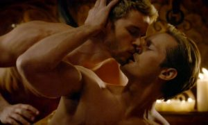 Alexander Skarsgård and Ryan Kwanten in 'True Blood.'