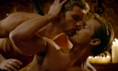 Alexander Skarsgård and Ryan Kwanten in 'True Blood.'