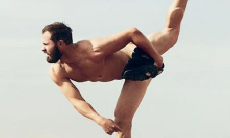 Pitcher Jake Arrieta poses for ESPN 'Body' Issue.