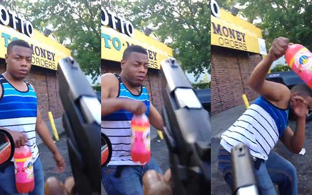 Disturbing Video of Man Pointing Gun Using Gay Slurs Goes Viral