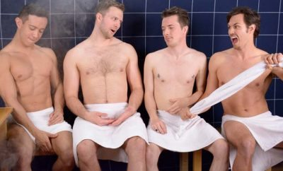 The Steam Room Stories guys talk shaving.