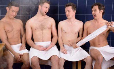The Steam Room Stories guys talk shaving.