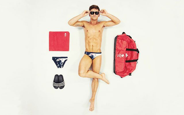 Tom Daley Gets 'Kitted' for the Olympics