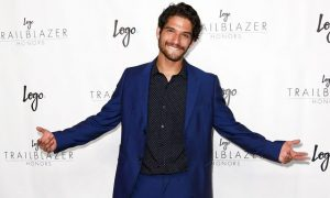 Tyler Posey comes out as gay on Snapchat.