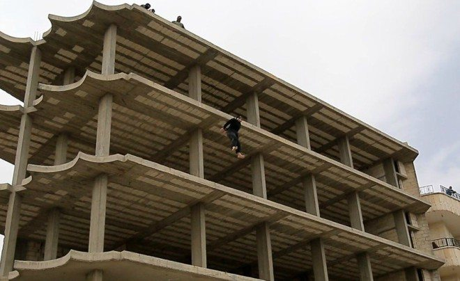 ISIS executes gay men in Mosul.
