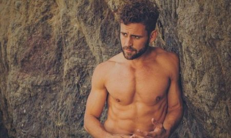 Bachelor Nick Viall shirtless