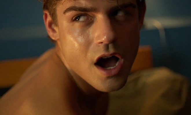 Garrett Clayton in 'King Cobra'