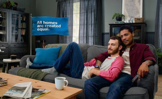 IKEA features a gay couple in new campaign