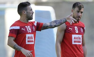 Sergi Enrich and Antonio Luna