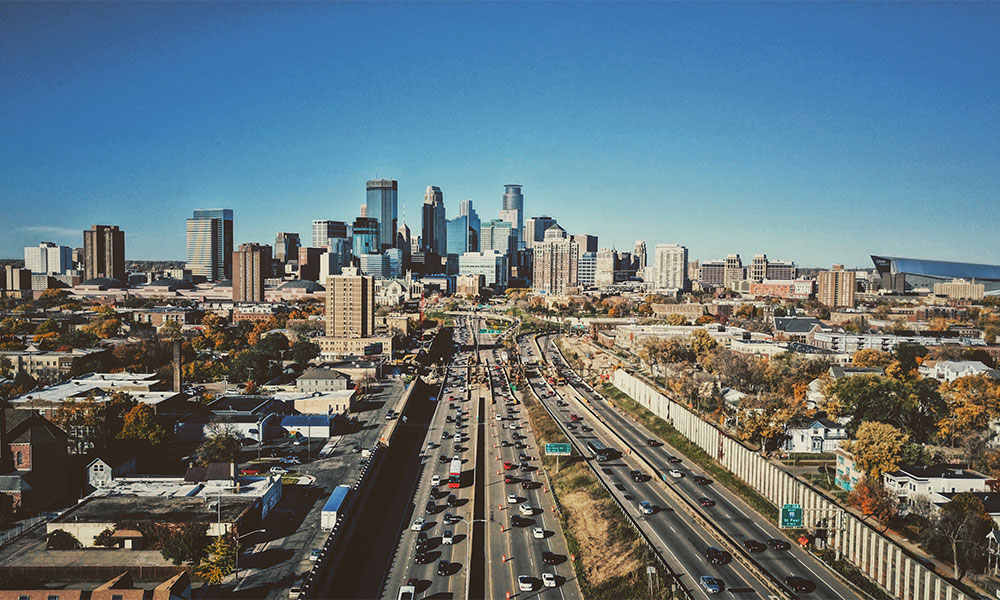 This is a photo of Minneapolis