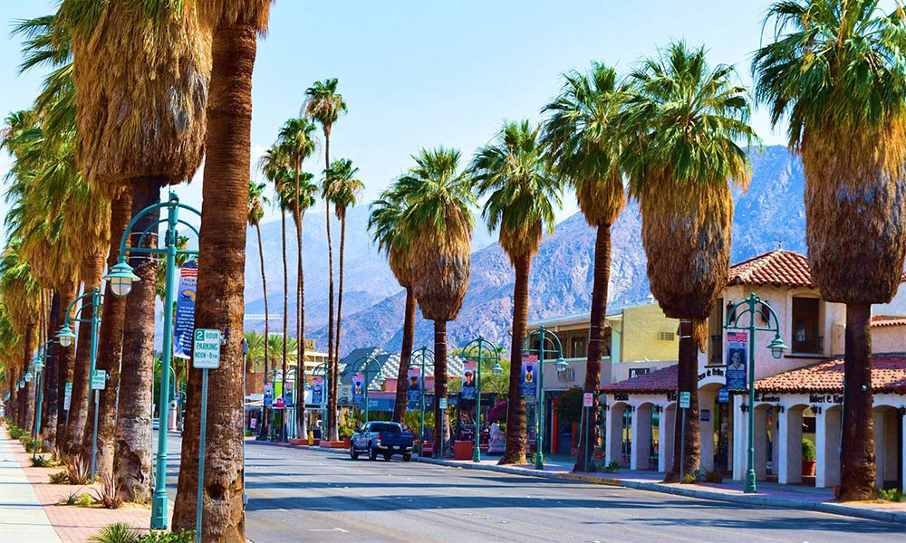 This is a photo of Palm Springs, California