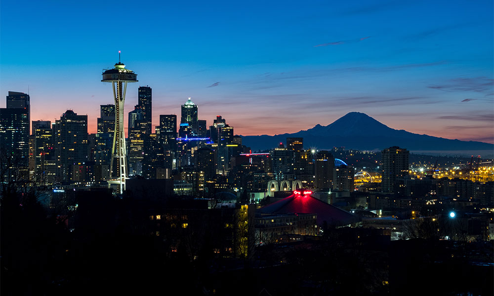 This is a photo of Seattle, Washington
