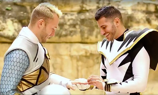 Gay Power Rangers Marriage Proposal