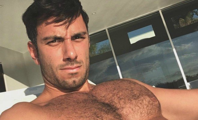 Jwan Yosef shirtless