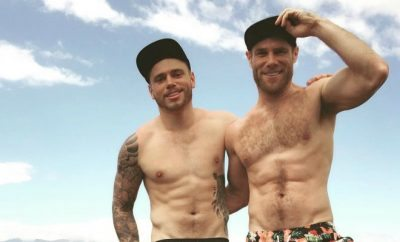 Gus Kenworthy and Matt Wilkas