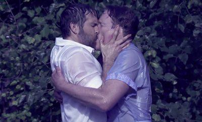 Ryan Reynolds Kissing Conan O'Brien