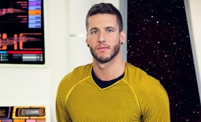 Captain Kirk in 'Star Trek' gay porn parody