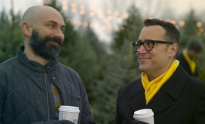 Spring holiday ad features 'Can you hear me now?' guy and his husband