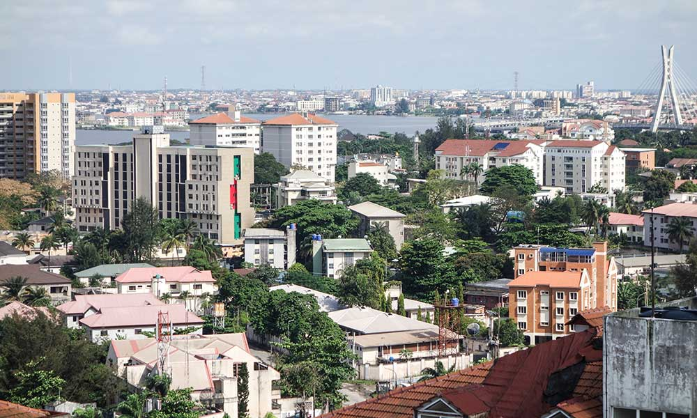 A photo of Lagos, Nigeria