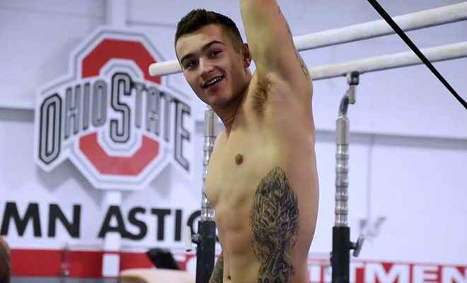 OSU Men's Gymnastics Team