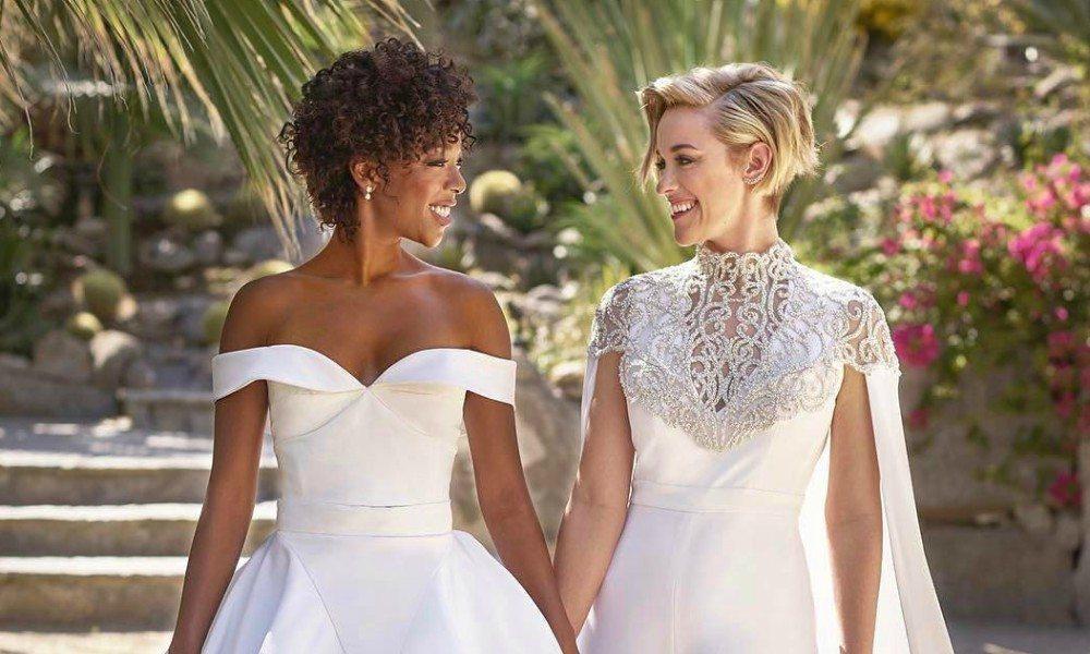 Samira Wiley and Lauren Morelli wedding