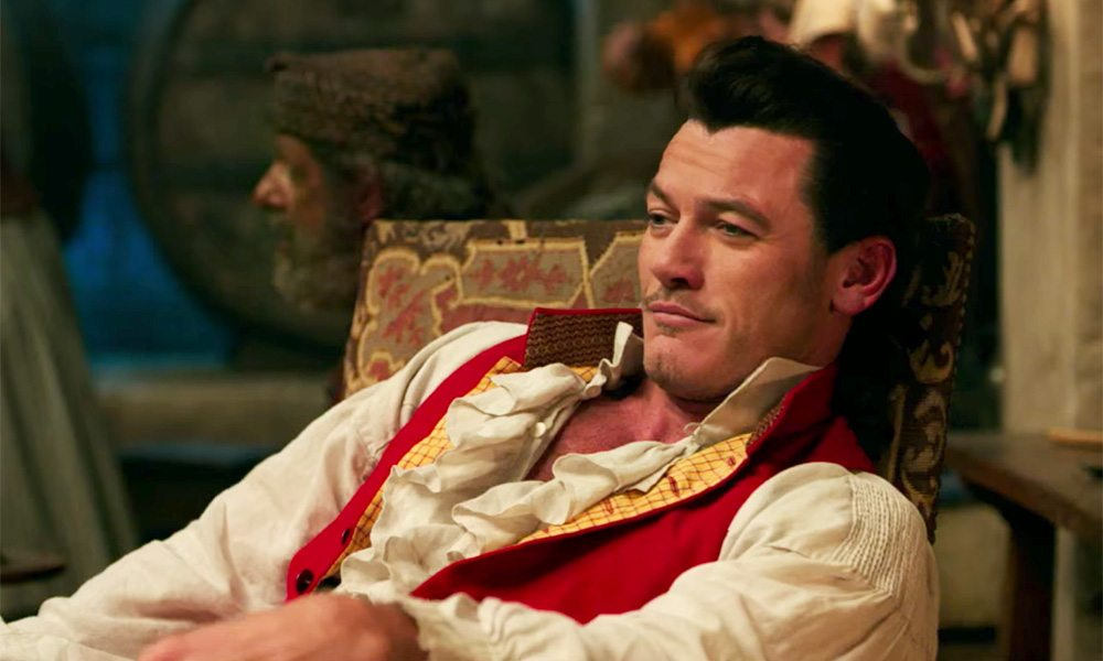Luke Evans as Gaston