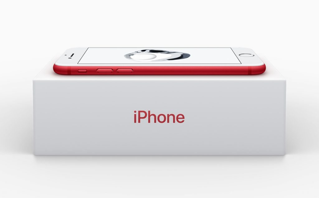 PRODUCT(RED) red iPhone