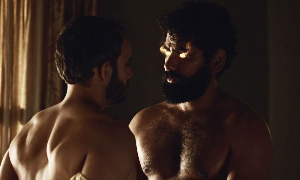 gay sex TV-scener nacket bilder