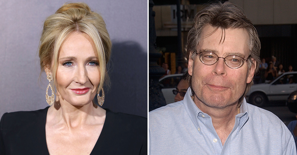 J.K. Rowling and Stephen King Join Forces Against Trump