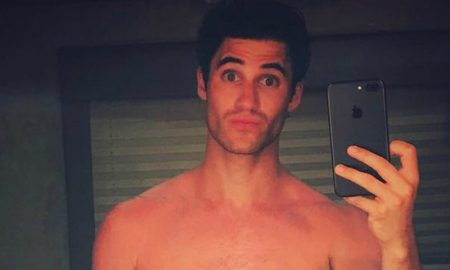 Darren Criss Shows Off His Full-Body Sunburn