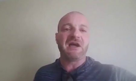 Cowardly Neo-Nazi Whimpers After Learning He's Wanted for Arrest