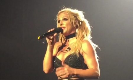 Britney Spears covers 'Something to Talk About'