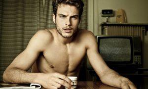 Australian model turned actor Ryan Cooper