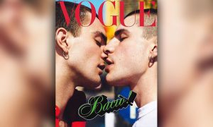 Vogue Italia September Issue Features Sensual Same-Sex Kisses
