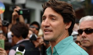 Prime Minister of Canada Justin Trudeau at Gay Pride