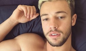 Cameron Dallas Shirtless Selfie on Instagram