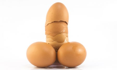 Eggs in the shape of a penis