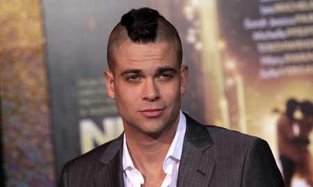 Mark Salling on a red carpet