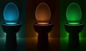 The illumiBowl Motion-Activated Toilet Night Light