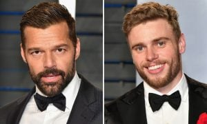 Ricky Martin and Gus Kenworthy