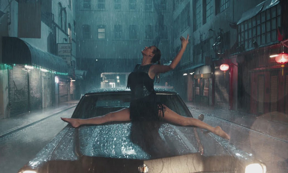 Screenshot from Taylor Swift's 'Delicate'